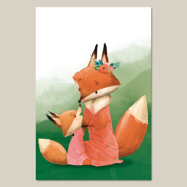 1. Foxes