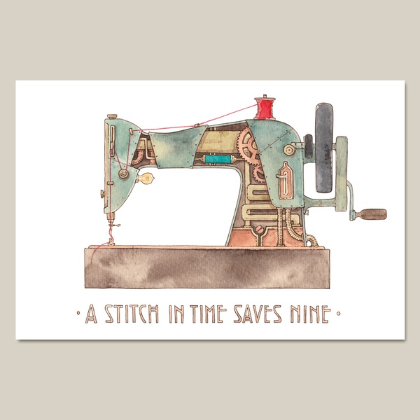 1. Sewing machine